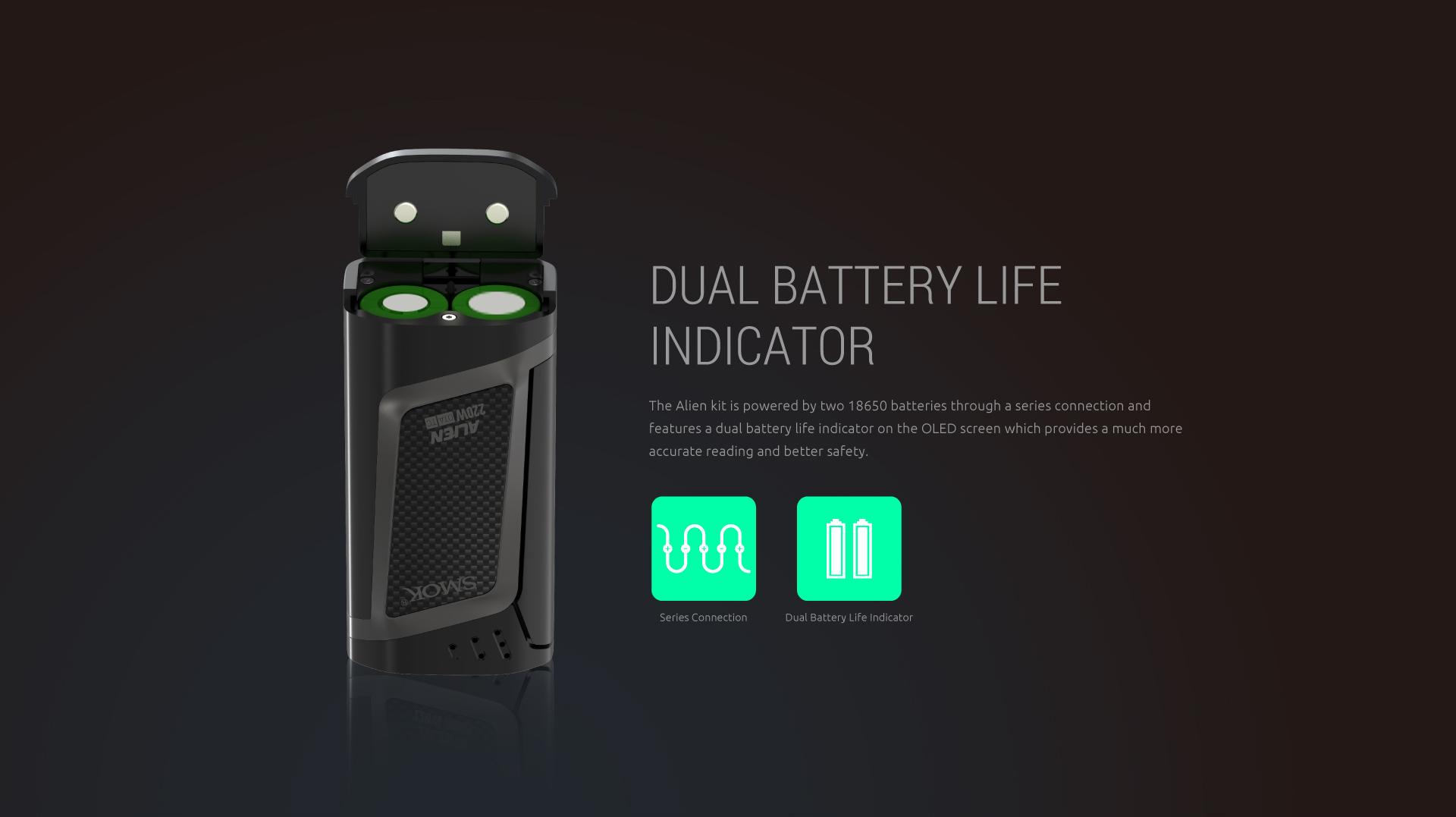 Dampfwolke | Smok Alien Box 220W | online kaufen